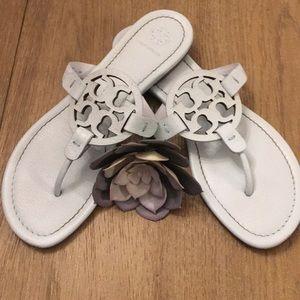 Tory Burch Miller Sandals Seltzer Blue